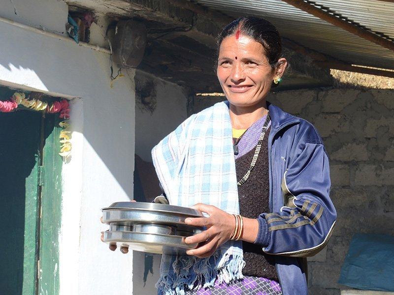 Himalayas Woman Sara