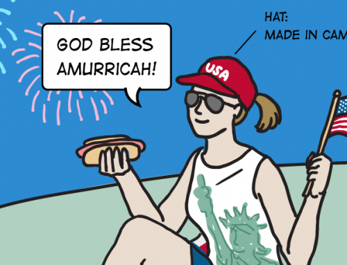 REMAKE DIARIES: Made in the USA? Our 4th of July Cartoon