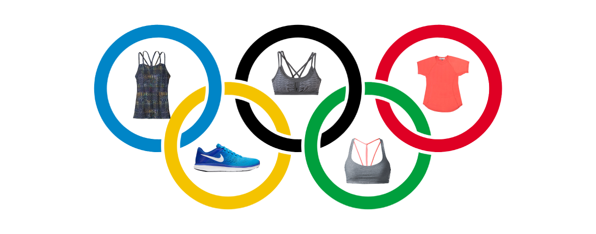 olympics rings and clothes