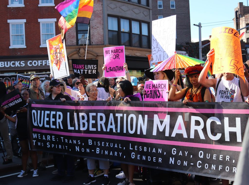 Queer Liberation March in NYC