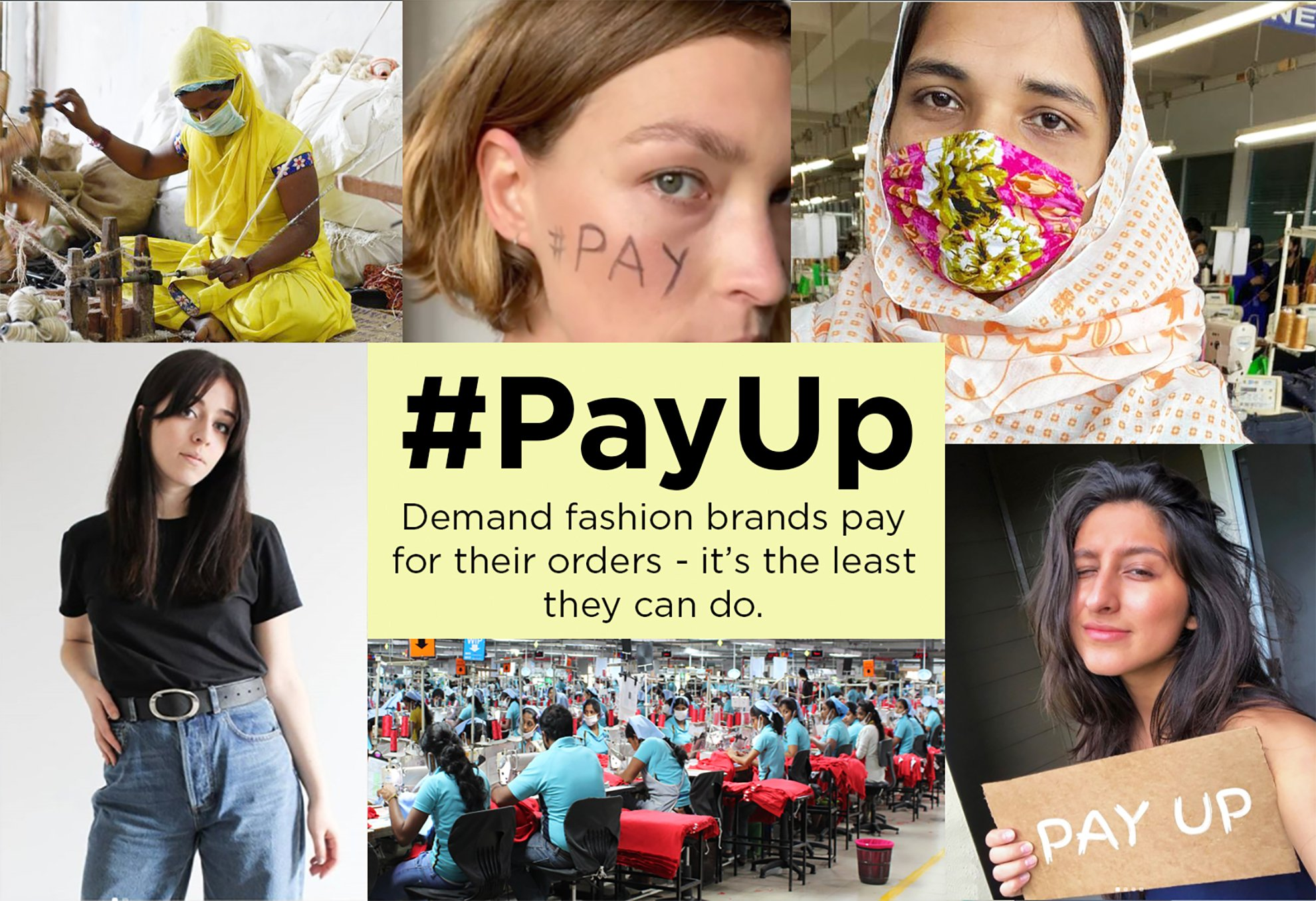 Petition update · Brands Are Responding to the #PayUp Pressure ...