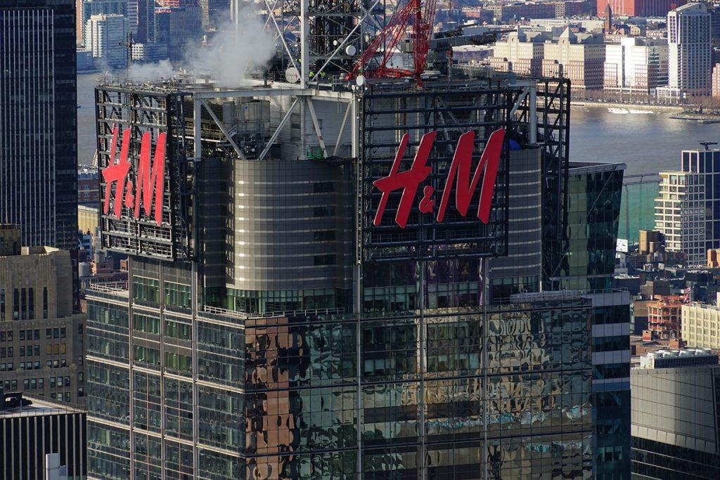 H&M worker raped